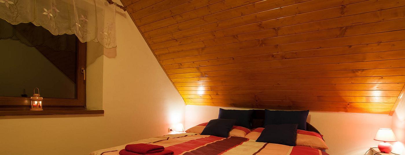 Novo zrekonštruované izby pre Váš pokojný spánok.